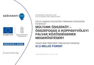 MÚLTUNK ÖSSZEKÖT – összefogás a Koppányvölgyi falvak közösségeinek megerősítésért